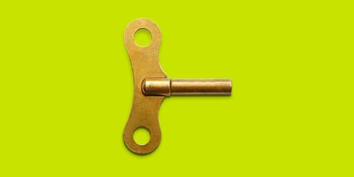 Flügelschlüssel als CNC Drehen/Fräsen Moodbild